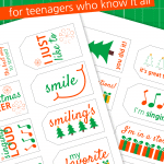 Elf Riddle Gift Tags
