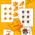 Thanksgiving Place Card Printables