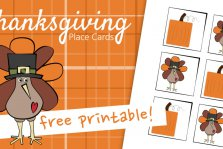 Thanksgiving Place Card Printable