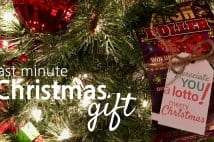 Last Minute Christmas Gift Plus Free Printable