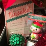 Looking for a way to bring Christmas cheer? Let us show you How To Tinsel Neighbors using our You've Been Tinseled Printable!