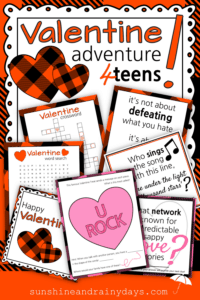 Valentine Scavenger Hunt For Teens