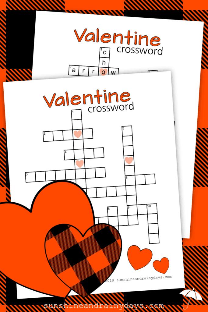 Valentine Crossword Puzzle