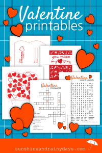 The thing I LOVE about Valentine's Day is the simplicity it brings! Valentine Printables make it even simpler! There's no lists to make, parties to plan, or wallet busting shopping trips. Nope! Valentine's Day is a day to make your loved ones feel a little extra special! It doesn't have to be stressful or hard!
