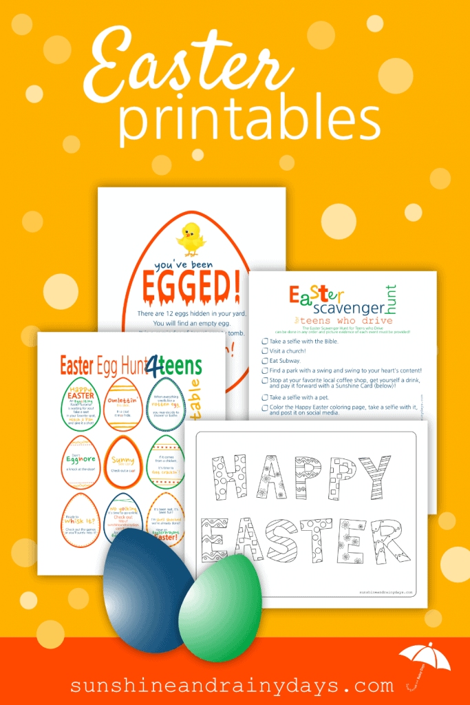 Bunnies, chicks, egg hunts, and celebrating the resurrection of Jesus Christ! Easter is a time to celebrate new life and hope for our future! We are here to help you celebrate with Easter Printables!