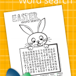 Easter is the day we celebrate the resurrection of Jesus Christ! Bunnies, chicks, and eggs represent new life and hope for our future! We have created anEaster Word Search Printable to help you celebrate!