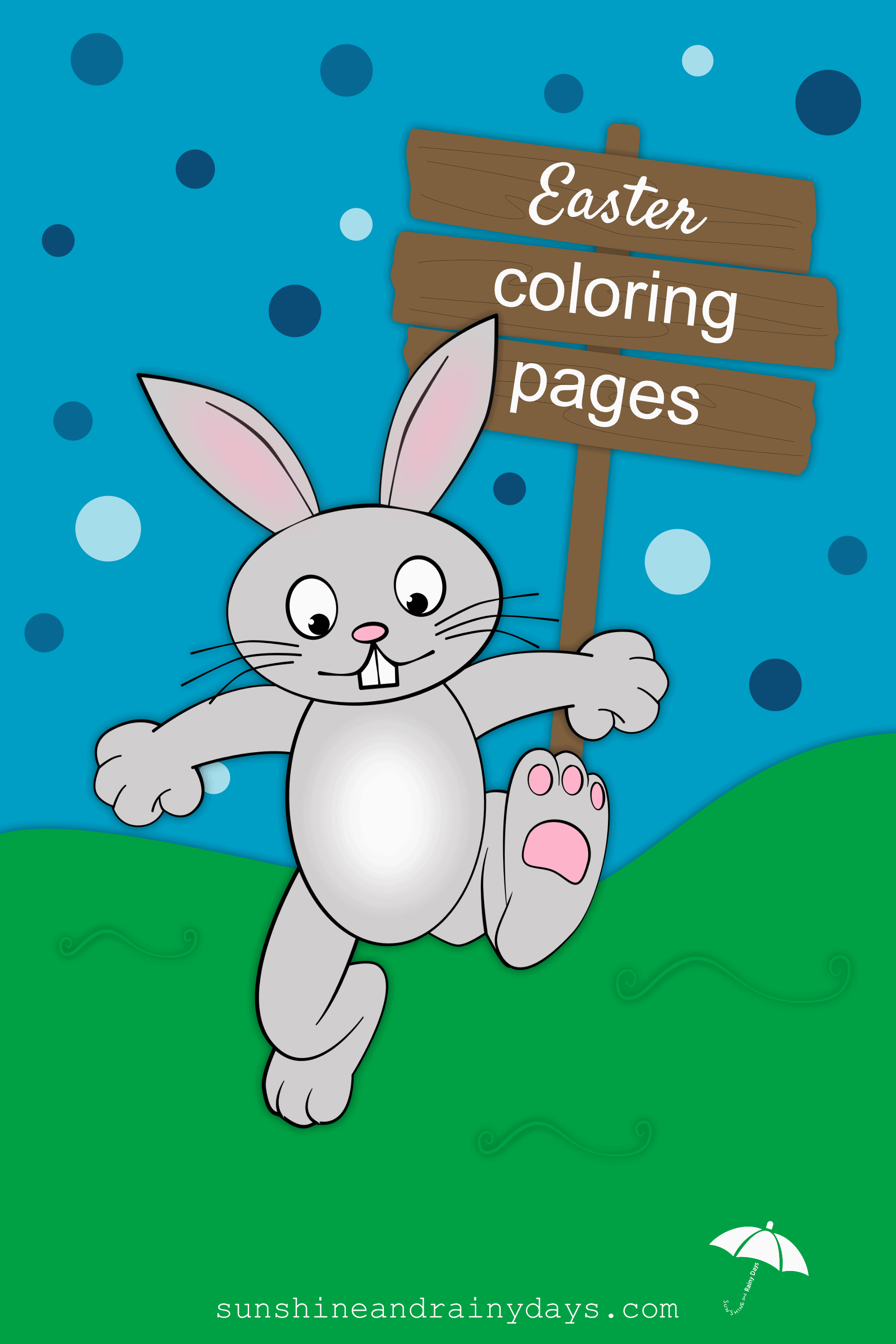 Leave a few Easter Coloring Pages laying around along with colored pencils and see if your guests start coloring! #EasterPrintables #EasterColoringPages #SARD #SunshineAndRainyDays