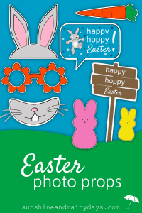 Give your friends a reason to take a picture with Easter Photo Props!