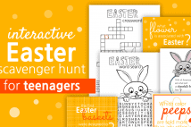 Interactive Easter Scavenger Hunt For Teenagers
