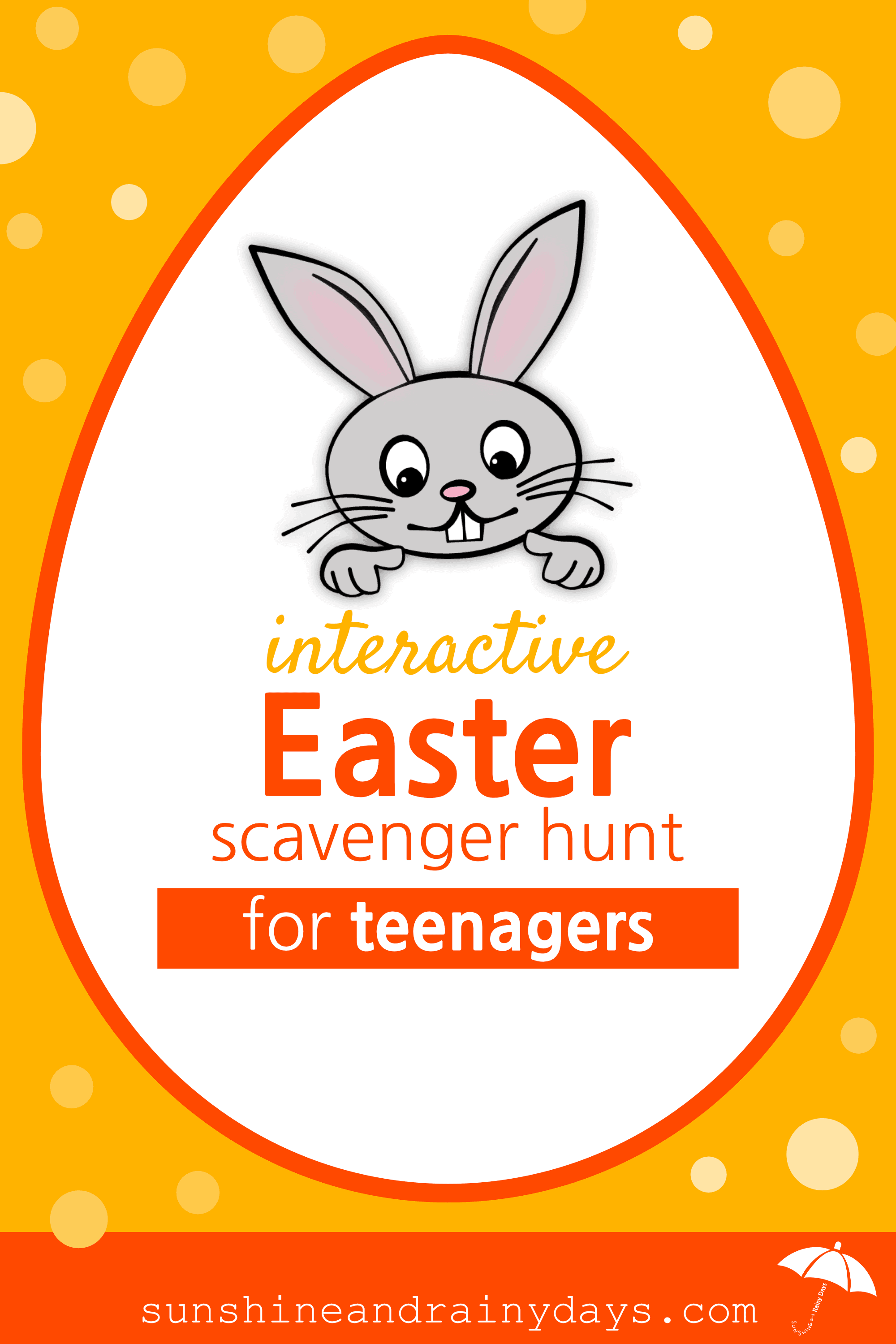 The Interactive Easter Scavenger Hunt For Teenagers combines online tasks with Easter Printables to lead your teenagers on an interactive quest to find their Easter Treat! Our teens love technology so we're using it to make Easter FUN for them and EASY for you!