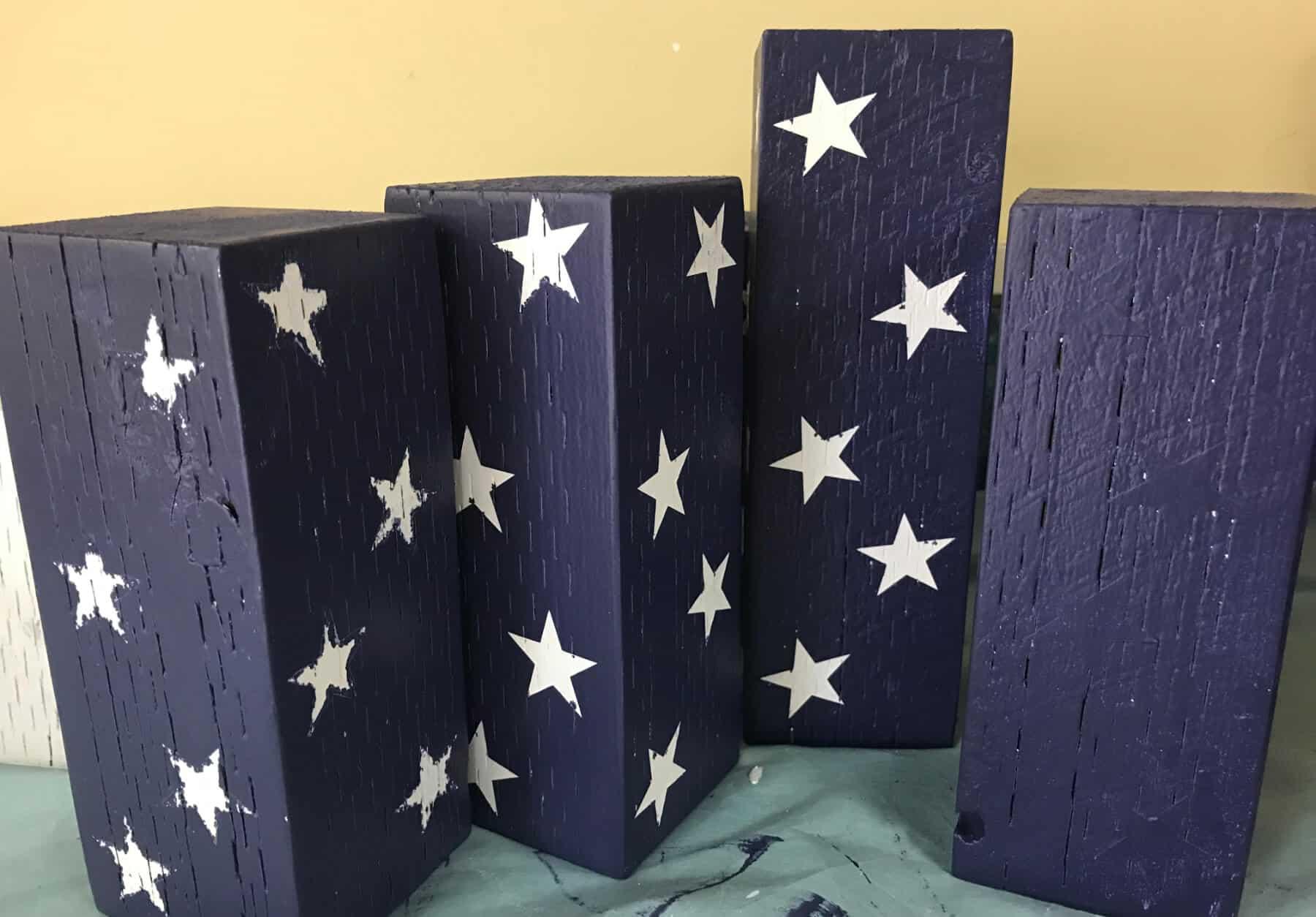 Blue Firecrackers