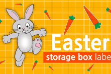 Easter Storage Box Labels