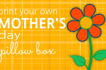 Mother's Day Pillow Box
