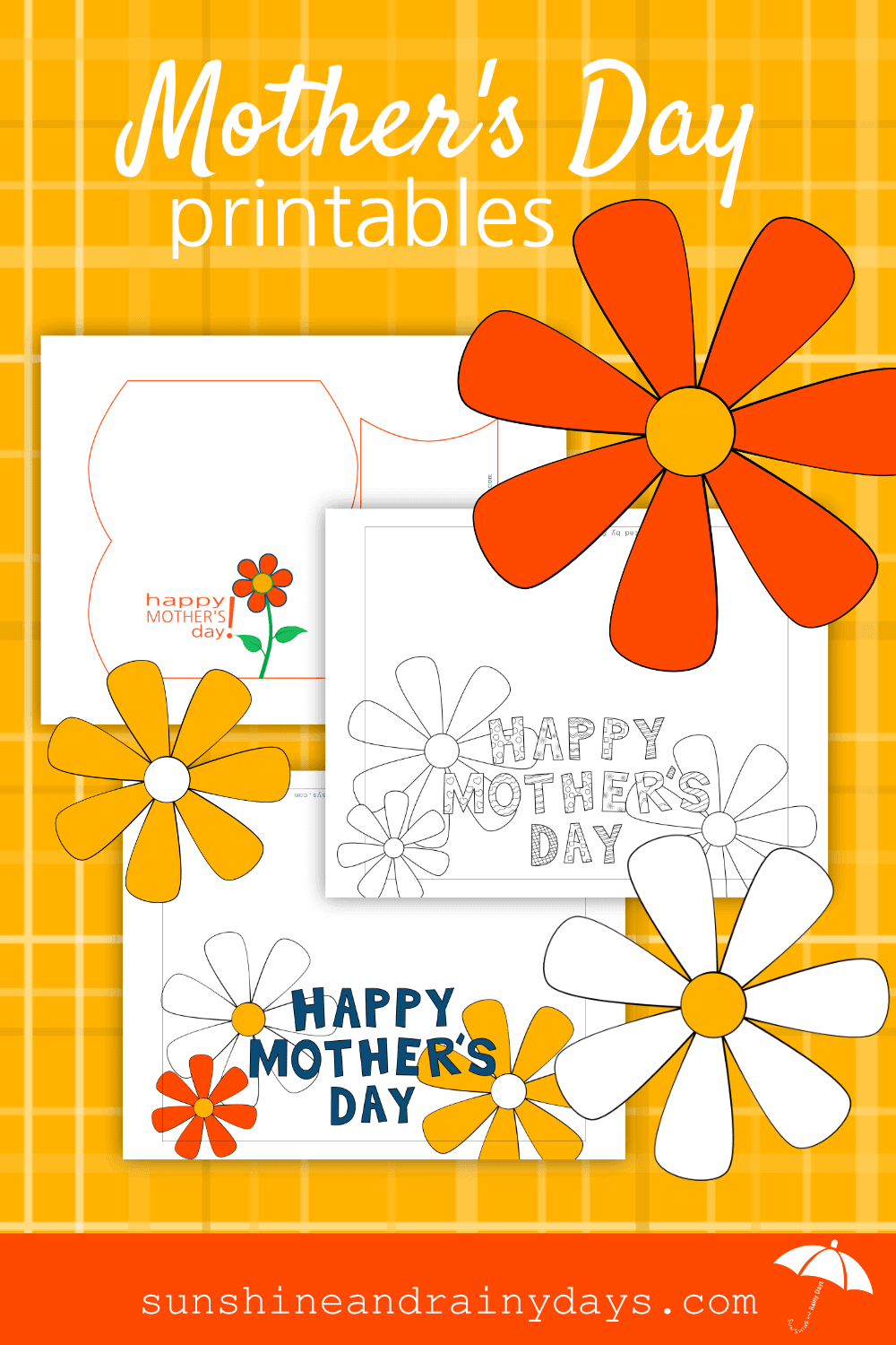 Make Mother's Day easy this year with our Mother's Day Printables!