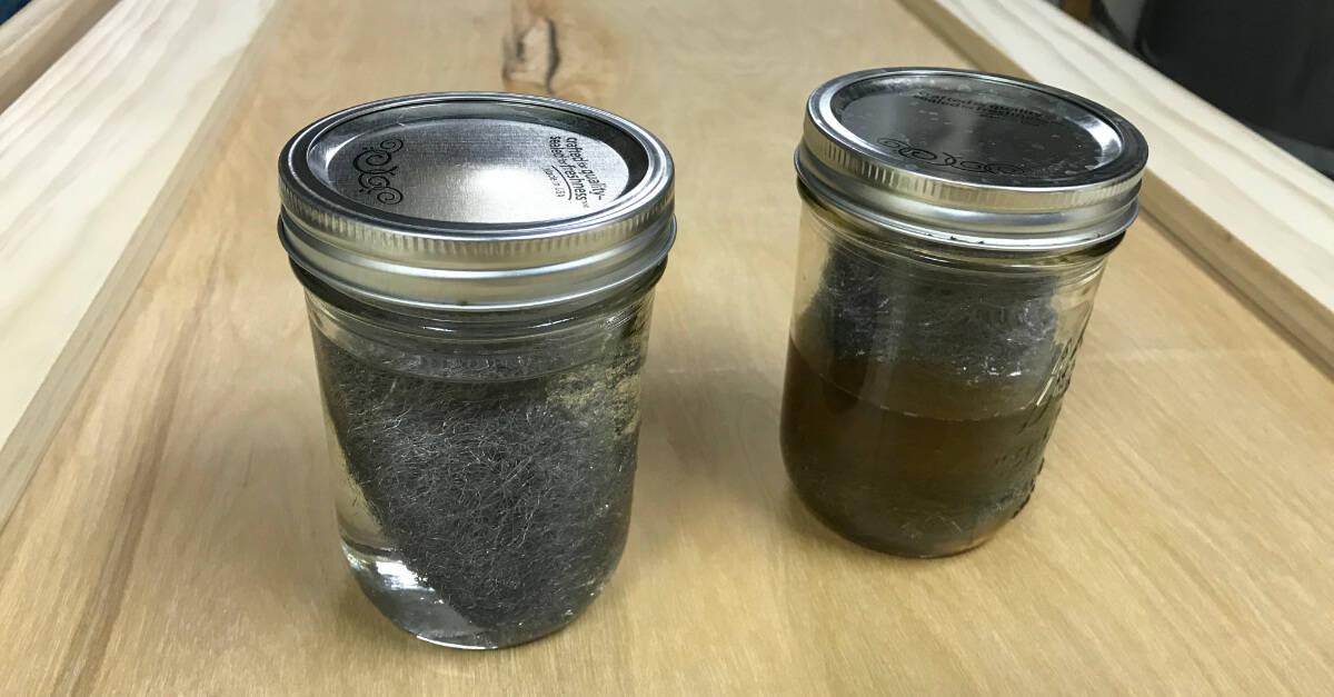 Steel Wool In Vinegar