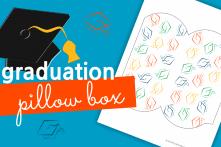 Graduation Pillow Box