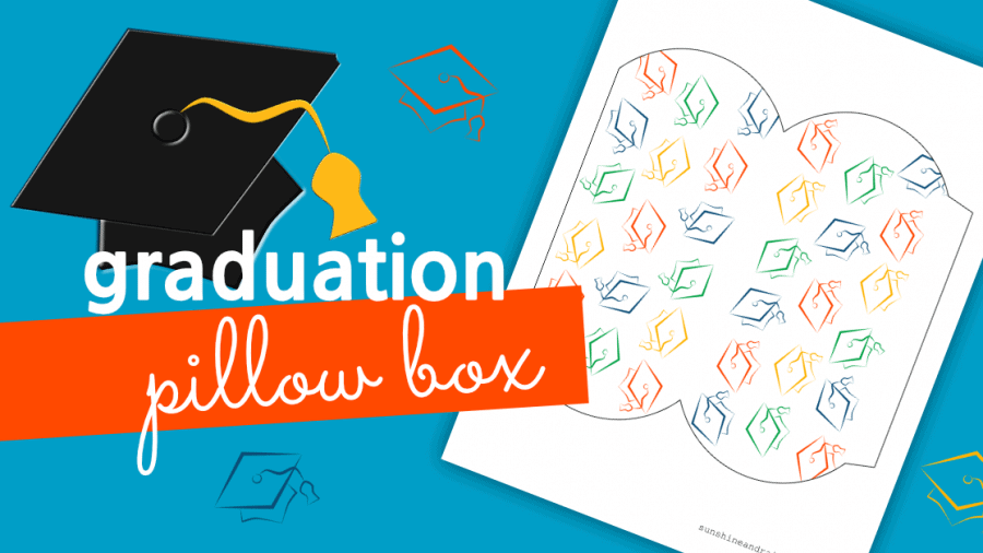 Graduation Pillow Box