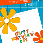 We are here to make Mother's Day just a little bit easier for you with ourMother's Day Free Printable Card! Mother's Day Printables save time, money, and let you focus on the gift you want to purchase for your mom!