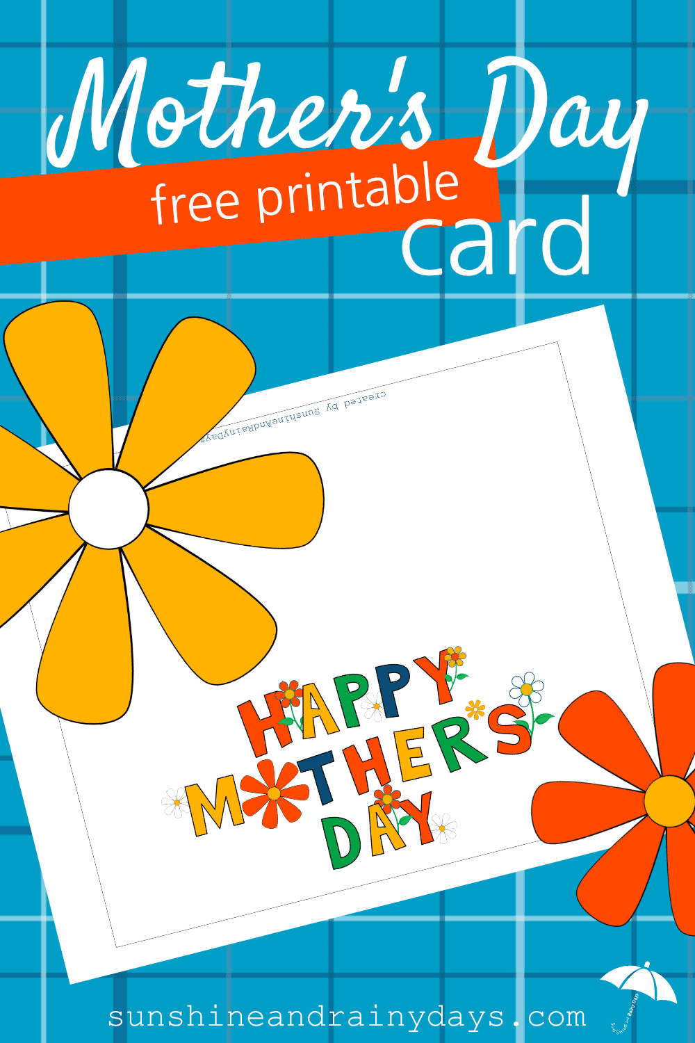 We are here to make Mother's Day just a little bit easier for you with our Mother's Day Free Printable Card! Mother's Day Printables save time, money, and let you focus on the gift you want to purchase for your mom!