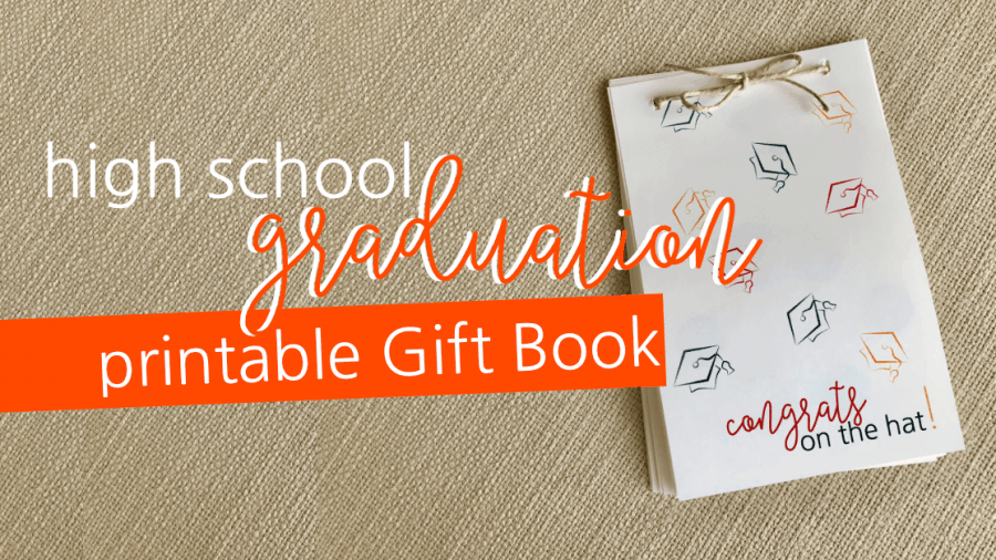 Printable Graduation Gift Book