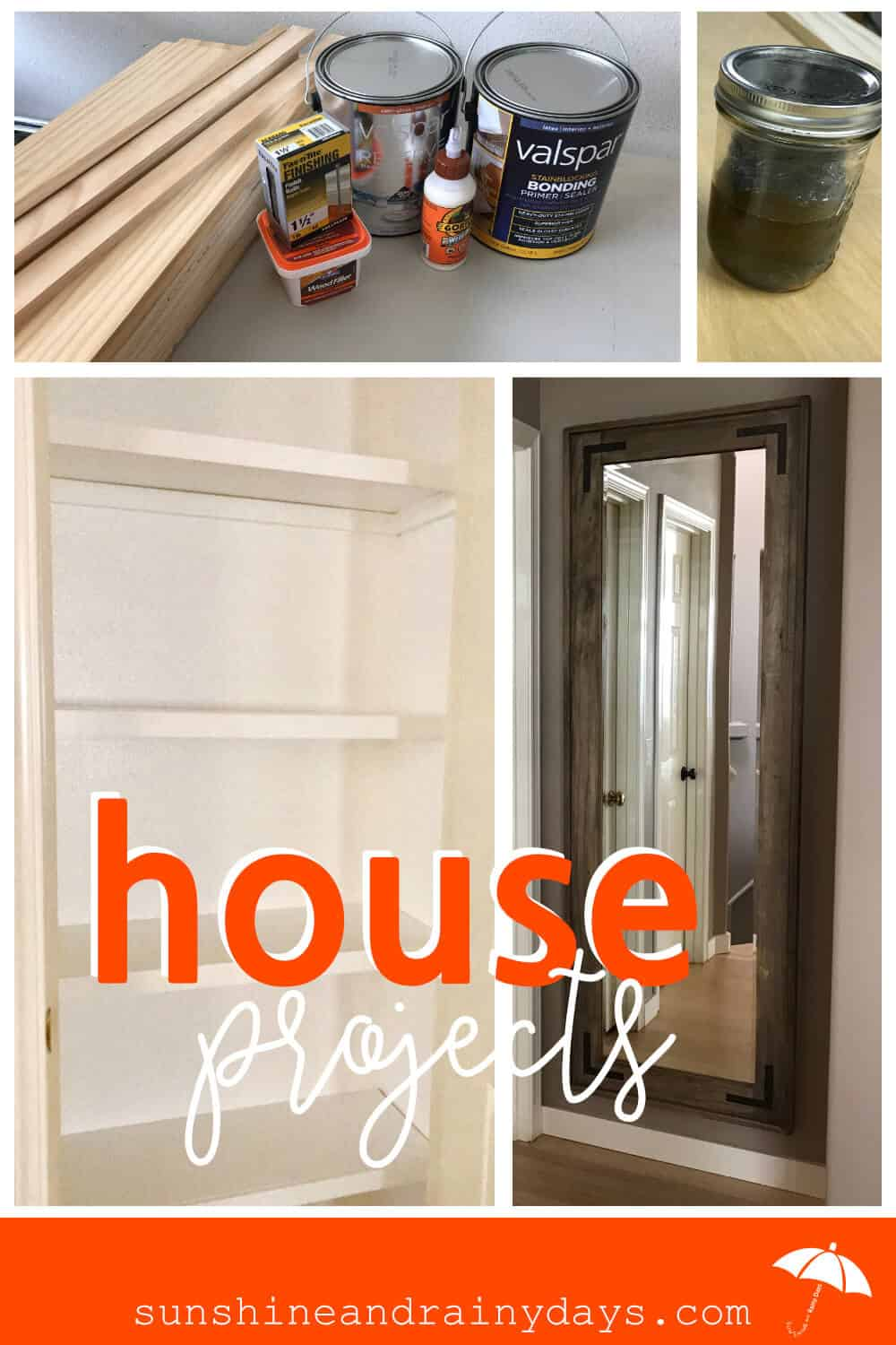 House Projects may seem daunting but once you tackle one, you'll be ready to use your creativity to keep going! House Projects DIY | House Projects Decor | House Projects Ideas | House Projects Wooden | House Projects Small | House Projects Indoor | House Projects Easy