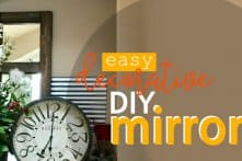 Easy Decorative DIY Mirror