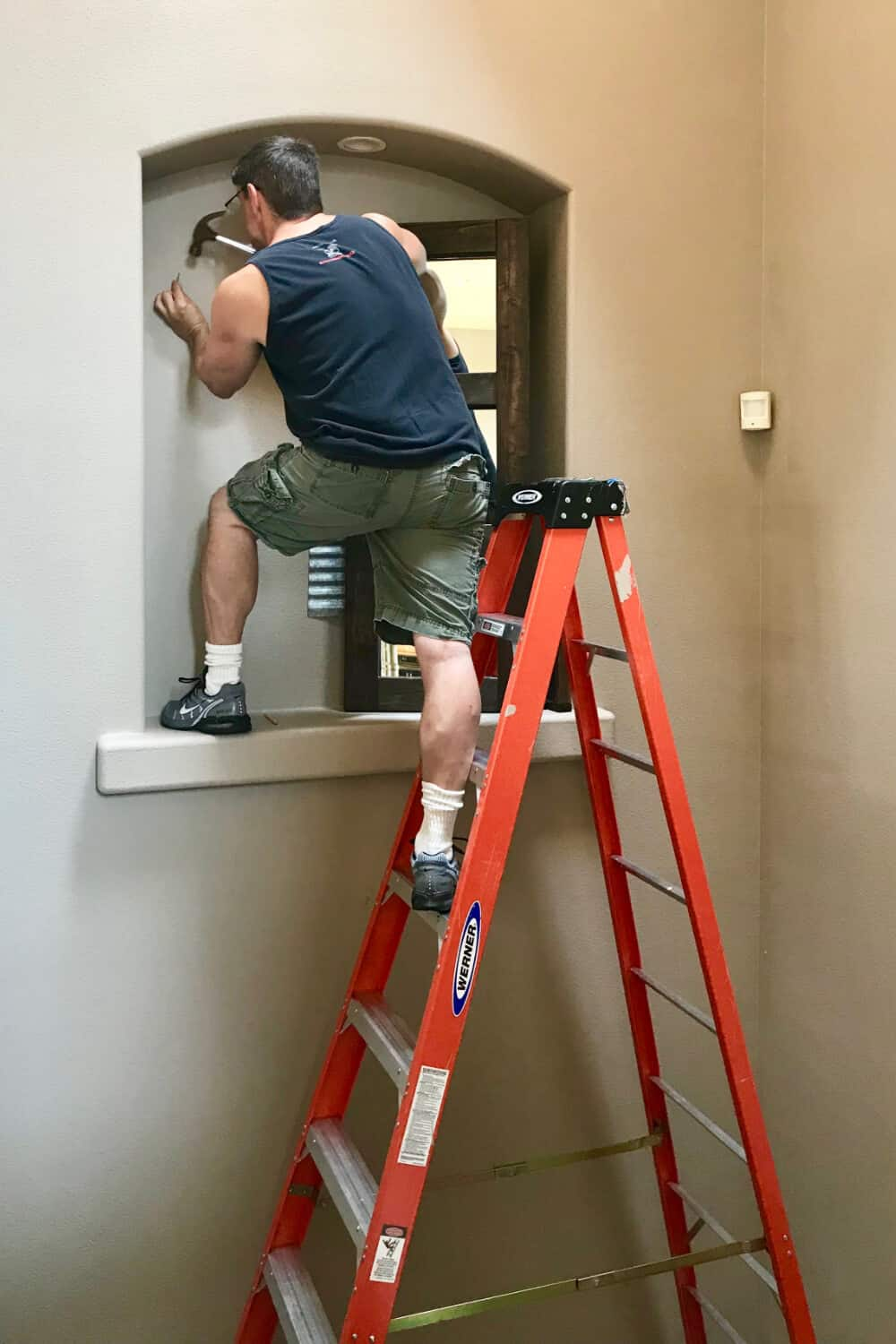 Hanging DIY Mirror