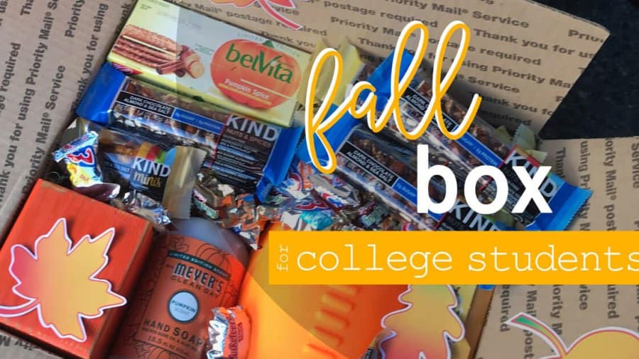 What To Put In A Fall Box For College Students