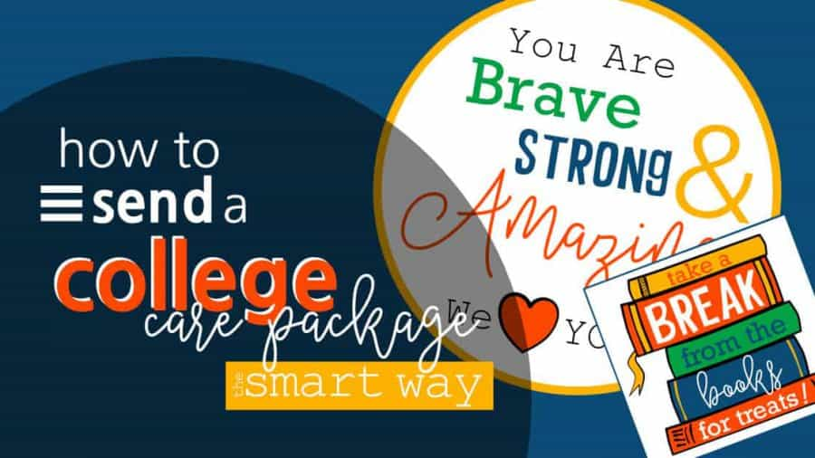 College Care Package Printable