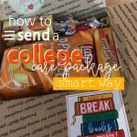 If you don't want to sit around and cry over your empty nest, DO SOMETHING! Create an awesome College Care Package. That'll keep you busy and excited for your student! College Care Package | College Care Package Ideas | College Care Package For Guys | College Care Package For Girls | College Care Package DIY | College Care Package Printables | #college #printables #SARD