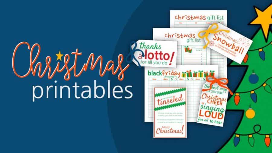 Christmas Printables For A Season Of JOY!