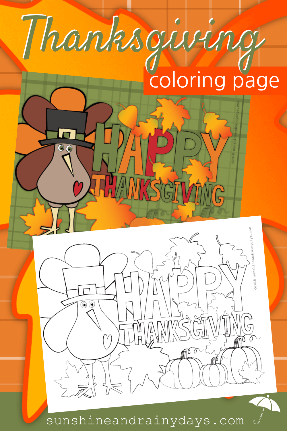 Are you ready to embrace all things Thanksgiving? Our Thanksgiving Coloring Page will not only help you decorate for the Holiday but it is a great stress reliever too! Thanksgiving Printables | Thanksgiving Coloring Pages | Thanksgiving Coloring Pages For Adults | Thanksgiving Coloring Sheets | #Thanksgiving #ThanksgivingPrintables #ThanksgivingDecorations #Printables #SARD