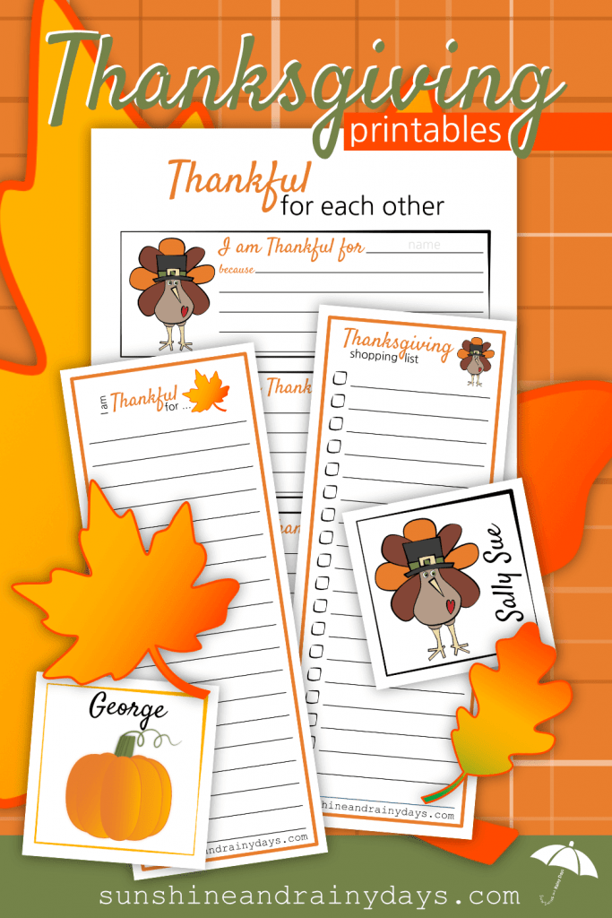 Are you ready for an organized and awesome Thanksgiving? We are here to help and encourage with our Thanksgiving Printables! Woot! Thanksgiving Printables | #Thanksgiving #ThanksgivingPrintables #Printables #SARD