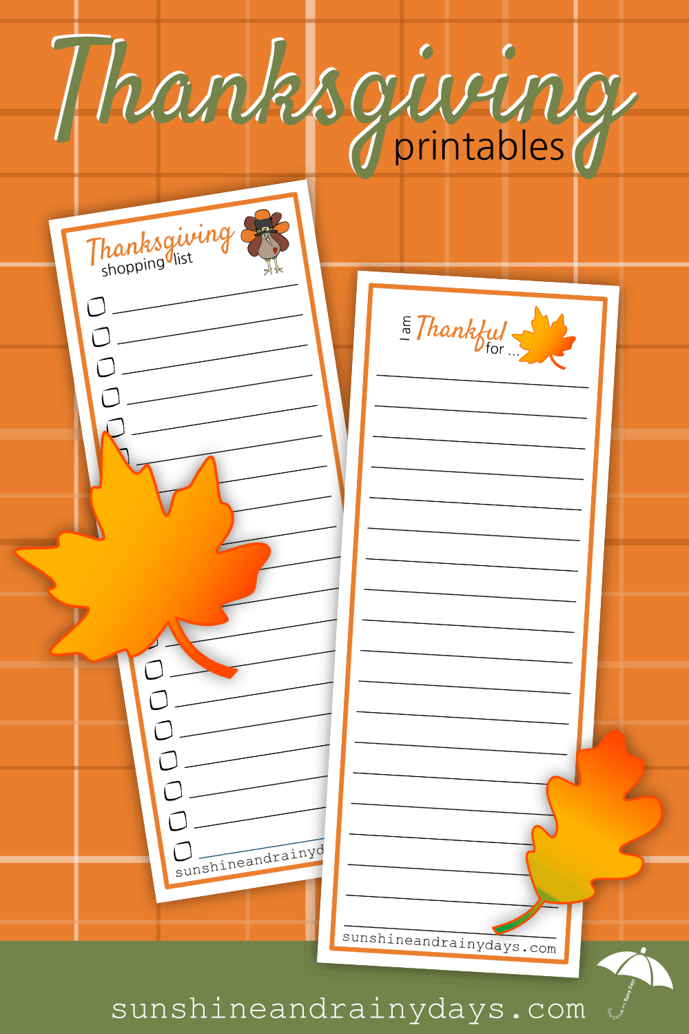 Whether you're hosting Thanksgiving or not, you likely need to do a little Thanksgiving shopping! Our Thanksgiving Shopping List Printable is here to encourage you to get it down on paper! Thanksgiving Printables | Thanksgiving Shopping List | Thanksgiving Thankful List | #Thanksgiving #ThanksgivingPrintables #Printables #SARD