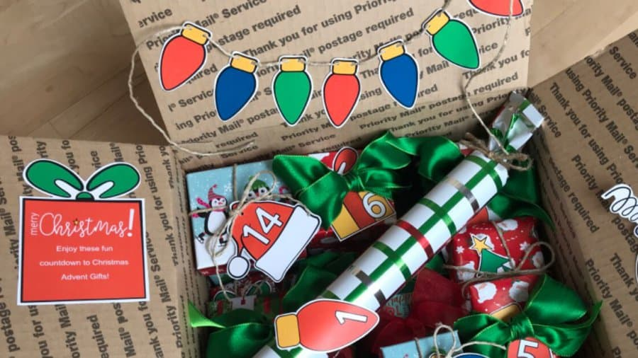 Christmas Advent Calendar For College Students