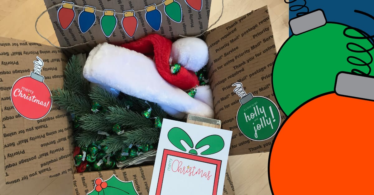 Christmas Care Package For College Students