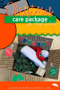 It's time to get Holly and Jolly! We've got ideas and Christmas Printables for your Christmas Care Package for College Students! Christmas Care Package | Christmas Care Package For College | College Christmas Care Packages | College Christmas Care Package Ideas | #ChristmasPrintables #collegecarepackage #SARD