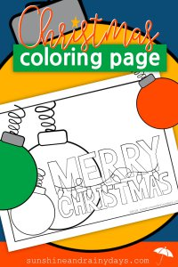 Sit down, relax, and COLOR! That's some of the best advice I can give you to manage stress at the most Joyful time of year! Forget the to do list and get creative with this Christmas Coloring Page! Christmas Coloring Pages | Christmas Printables | #ChristmasPrintables #SARD