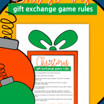 Christmas Gift Exchange Game Rules