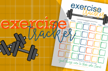Printable Exercise Tracker