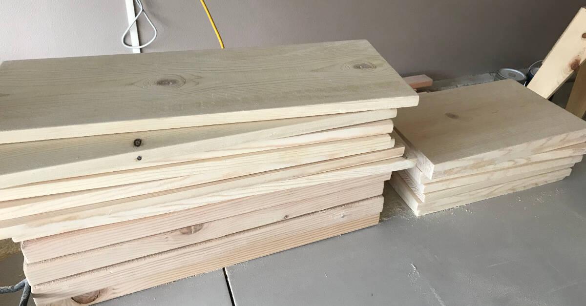 Headboard and Footboard Wood