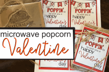 Just Poppin' By Popcorn Valentine