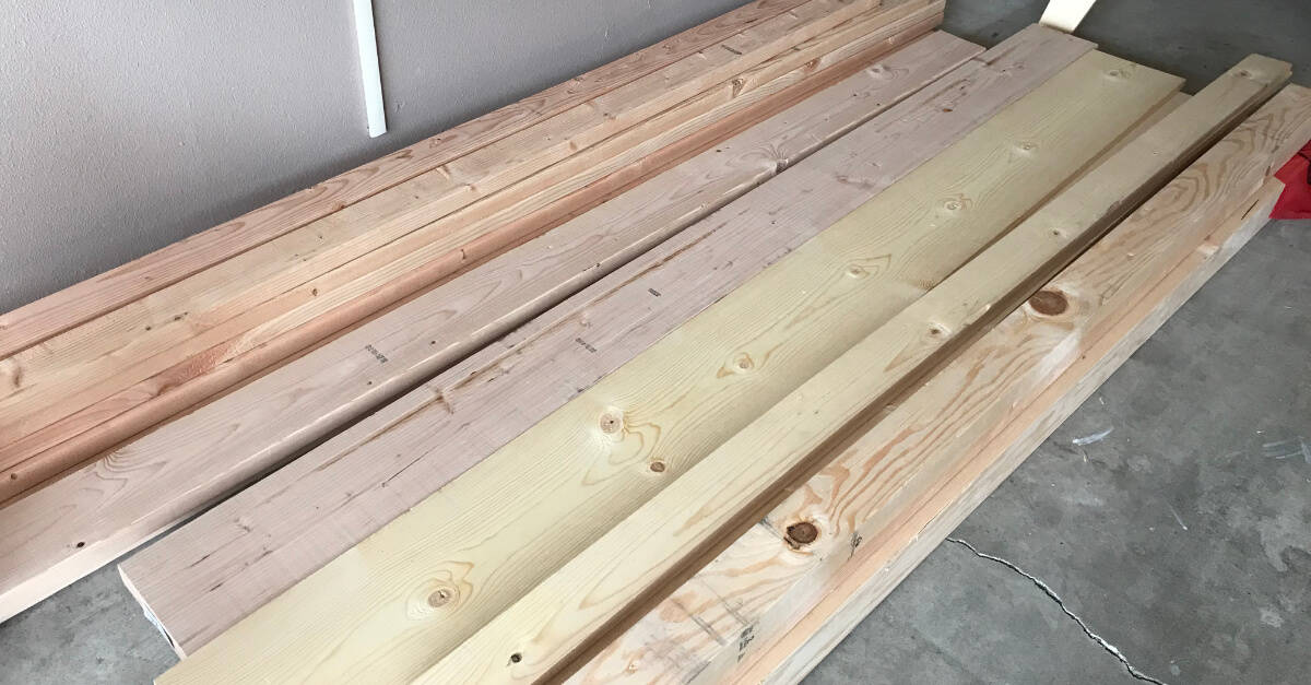 Wood for Farmhouse Bed