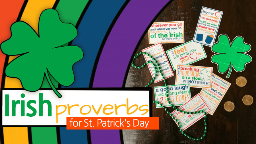 Irish Proverbs Printable For St. Patrick's Day