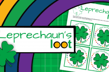 St. Patrick's Day Leprechaun's Loot Printable