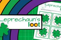 St. Patrick's Day Leprechaun's Loot Printable