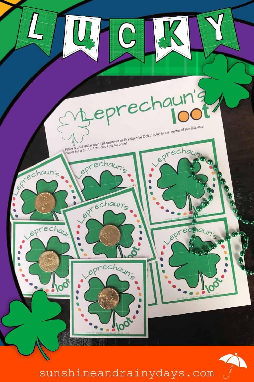 Leprechaun's Loot Printable