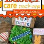 The Easter Care Package Printables are the perfect way to make your Easter package Egg-stra Special! Easter Care Package College   Easter Care Package Ideas   Easter In A Box   #EasterCarePackage #EasterInABox #SARD