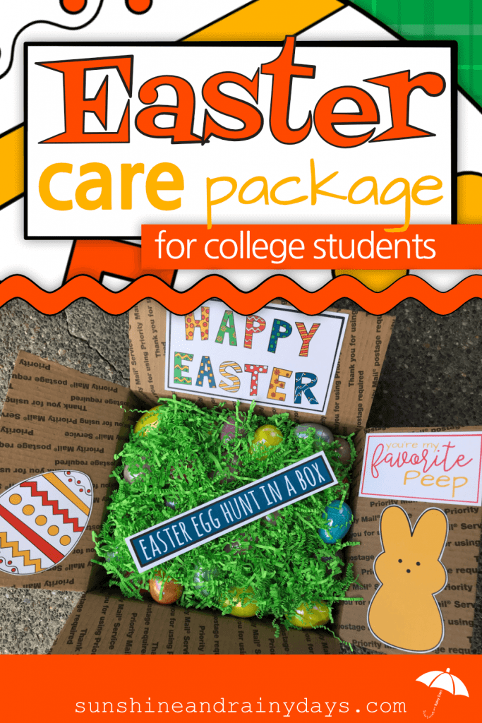 Easter Care Package For College Students