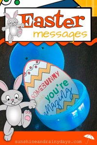 Make your Easter egg-stra special with punny and inspirational Easter Messages designed to fit in plastic Easter Eggs! Don't forget to add candy! Easter Egg Hunt | Easter Printable | Easter Eggs | #easteregghunt #eastereggs #SARD